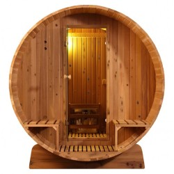 Barrelsauna 300 Knotty