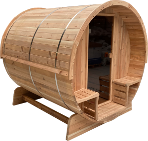 Barrelsauna 170 Knotty